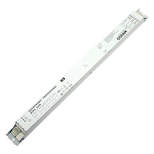Osram – QTP-Optimal 2 x 18 – 40 Vorschaltgerät (Farbe: Weiß, geeignet für Leuchten mit Schutzklasse III, Nennspannung: 220–240 Volt (50/60 Hz), Gewicht: 243,7 g) (39w Elektronische)