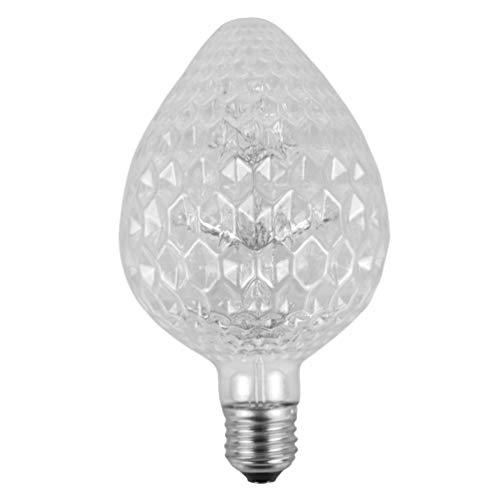 Uonlytech Bombilla Vintage lámpara de Base de Bombilla de filamento de Edison Decorativa para Restaurante Sala de Lectura en casa