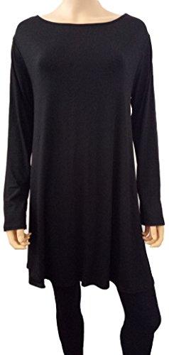 Xpression Fashion Maglia a manica lunga - Donna Black