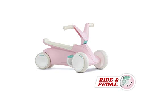 BERGTOYS Berg Toys Scooter A Pedales, Color Rosa, 24.50.01.00