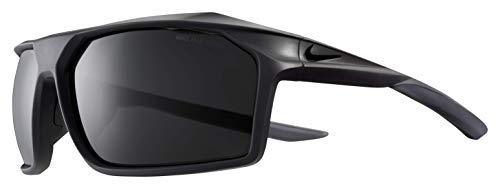 Nike Herren Sonnenbrille Traverse Matte Oil Grey mit dunkelgrauen Gläsern