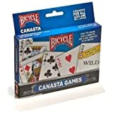Bicycle Canasta avec Packaging (2 Rouges)
