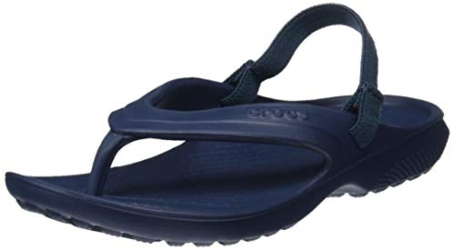 Crocs classic flip k ciabatte, unisex bambini, blu (nav), 30/31 (c13 uk)