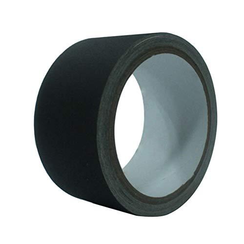 Hemobllo Klebeband, matt, Schattierungsband, wasserdicht, für Fotografie in perfekter Wärmespeicherung (schwarz)