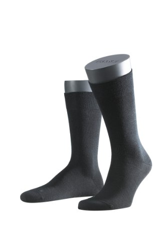falke sensitive FALKE Herren Socken 14416 Sensitiv Berlin SO, Gr. 43-46, Schwarz (black 3000 )