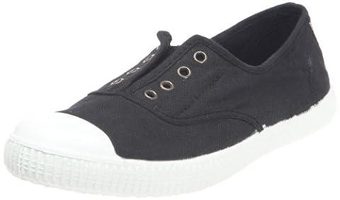 Victoria Inglesa Elastico Tintada Punt, Sneakers Basses mixte adulte, Noir