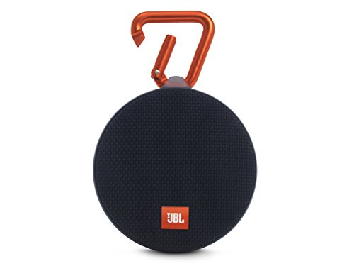 JBL Clip 2 Waterproof Ultra Portable Speaker (Black)