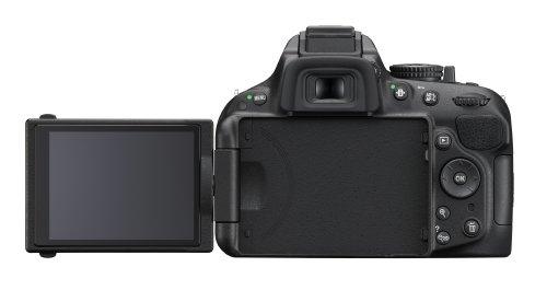 Nikon D5200 SLR-Digitalkamera (24,1 Megapixel, 7,6 cm (3 Zoll) TFT-Display, Full HD, HDMI) Kit inkl. AF-S DX 18-105 mm VR Objektiv schwarz - 2
