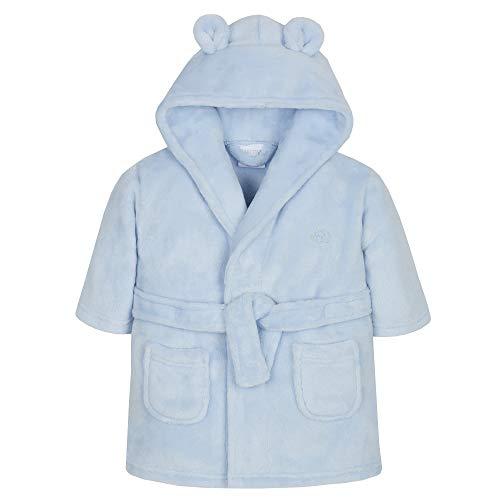 Wunderschön Baby ankleiden Kleid in Entweder Pink oder blau Weicher Flauschiger Fleece - blau Elefant, 86-92