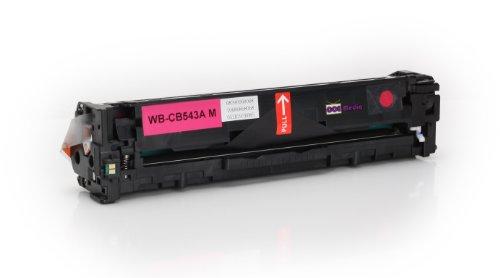 Toner kompatibel zu HP CB543A | Magenta für ca. 1.400 Seiten |...
