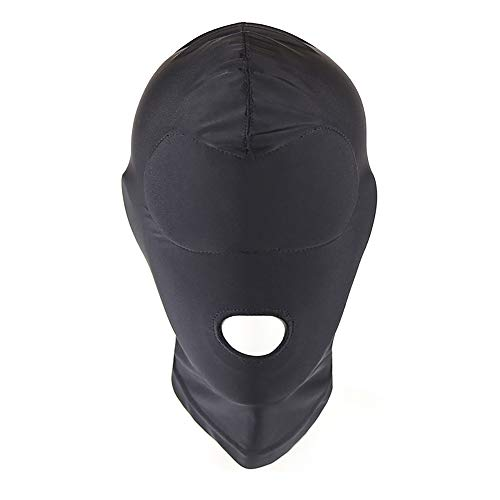 Erwachsene Maske Spiel Halloween Maskerade Maske Unisex Erwachsene Schwarze Atmungsaktive Maske Erwachsene Liefert Sex Produkte Männliche und Weibliche Leidenschaft,A