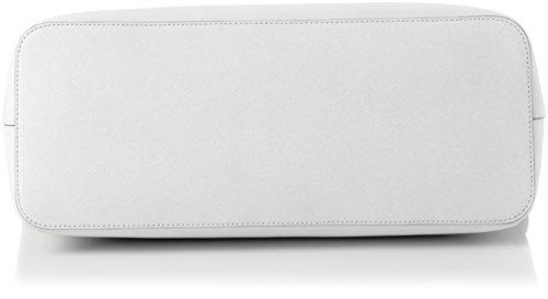Michael Kors - Jet Set Travl Chain, Borsa Tote donna Bianco (Optic White)