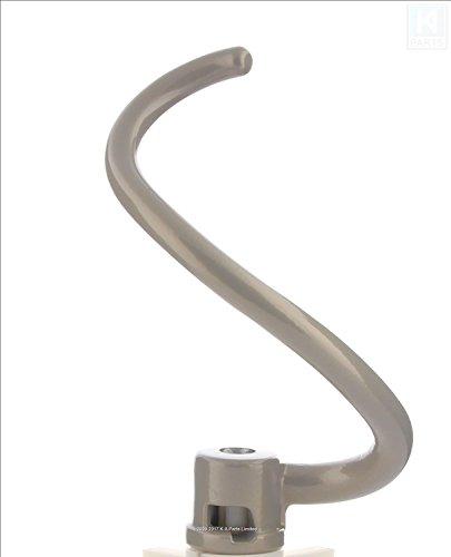 w10462705KitchenAid Quirl Ständer Mixer beschichtet Spiralbindung Teig Haken