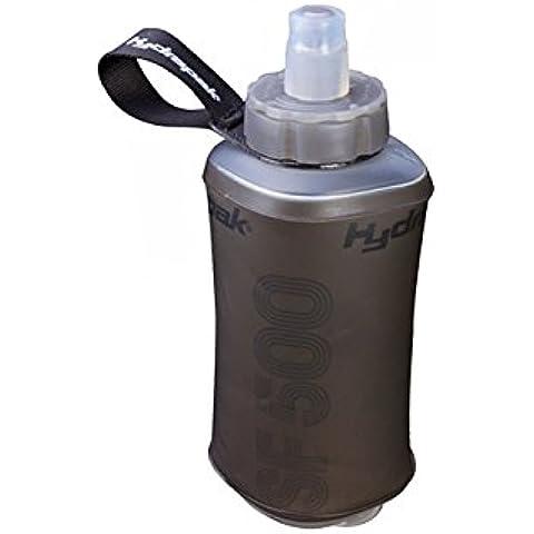 Hydrapak HP1404.GRA - Bidón de agua para bicicleta (500 ml), color gris