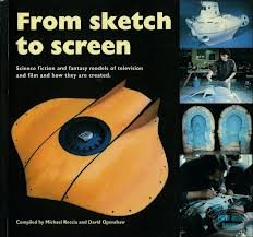 From sketch to screen: Science fiction and fantasy models of television and film and how they are created