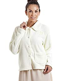 c7e341fed5 Camille Womens Luxury Soft Button and Zip Bed Jackets and Designs