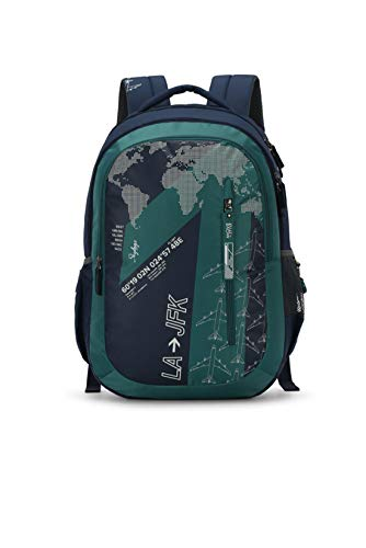 Skybags Figo Plus 03 34 Ltrs Green Casual Backpack (FIGO...