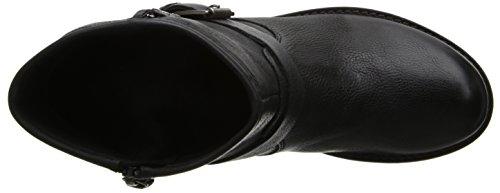 Geox D New Virna, Boots femme Noir (Blackc9999)