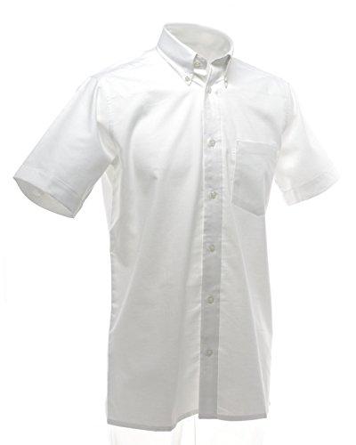 Nuovo Dickies Donna Maniche Corte Camicia da donna scuola Wear Fitted Casual Camicetta White 50