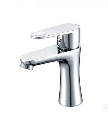 SYW badezimmerschrank, hahn, waschbecken, heiß, kalt, warmes wasser, ein loch, ein waschbecken, ein waschbecken und ein wasserhahn aufgedreht, chrome bad wasserhahn wasserhahn aufgedreht (Luft Chrome Heiße)