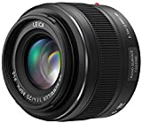 Panasonic H-X025E LEICA DG SUMMILUX 25 mm Digital Interchangeable Lens - Black