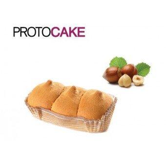 Ciaocarb iaf00073284 protocake, 4 snack da 45 g, nocciola