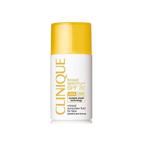 Clinique Flüssige Gesichtsonnenschützter - Mineral Sunscreen Liquid For Face SPF30, 1er Pack (1 x 537 Stück)
