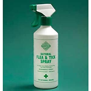 Barrier Animal Healthcare - Natural Flea & Tick Spray For Cats & Dogs - 400ml Spray Bottle from Barrier Healthcare