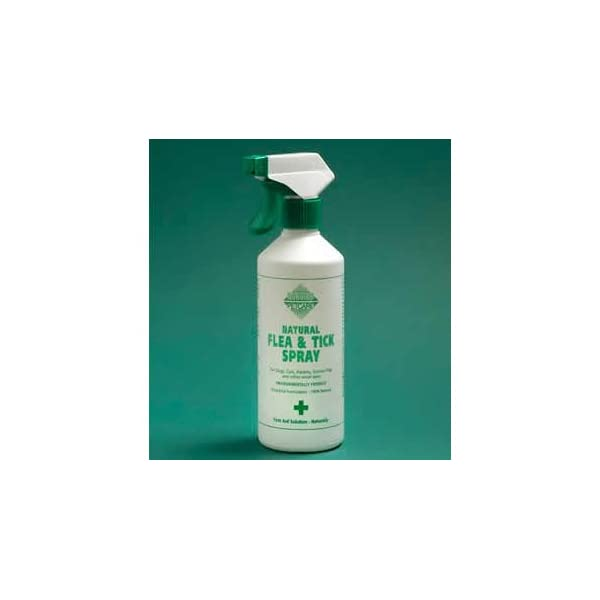 Barrier Animal Healthcare - Natural Flea & Tick Spray For Cats & Dogs - 400ml Spray Bottle 1