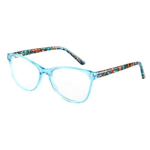 ZY Reading glasses Übergang photochrome Progressive Multi-Fokus-Lesebrille - Keine lineare stufenlose Linse + Rx Farsighted Women UV400 Sonnenbrille