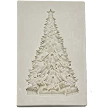 Demarkt Molde de Silicona Para Árbol de Navidad Cubitos de Chocolate Repostería Hornear Caramelos Dulces Jabón