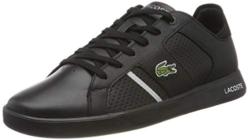 Lacoste Herren Novas CT 118 2 SPM004022F81 Sneaker, Mehrfarbig (Black 001), 45 EU