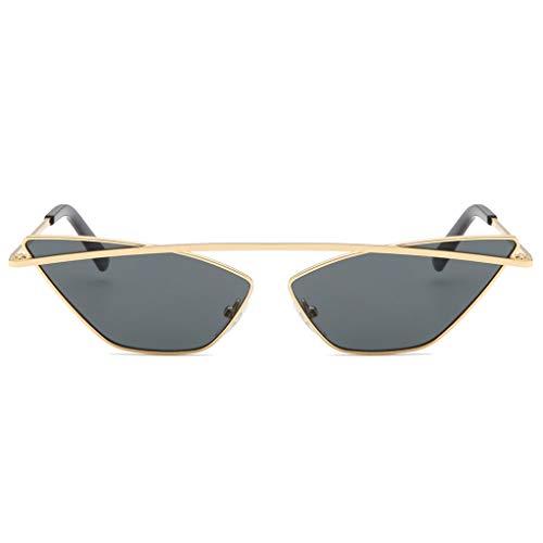 Luckiests Vintage kleine schmale Sonnenbrille-Frauen-stilvollen Damen Shades Retro Cateye Sonnenbrillen Brillen