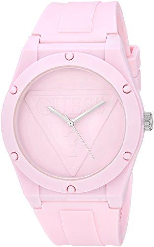 Guess orologio al quarzo in silicone e gomma casual da donna, colore: rosso (model: u0979l5)