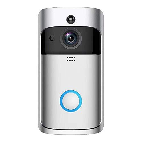 HDLWIS Video-Intercom-Türklingel, intelligente Alarmanlage spürt drahtlose Türklingel WiFi Fernbedienung zu Hause Türklingel-Kamera Remote-video-monitoring-system