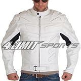 4LIMIT Sports Motorradjacke ADRENALIN Leder weiss