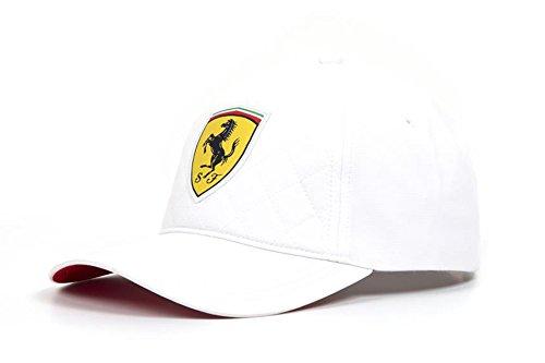 FERRARI Scuderia Formel 1 2018 weiße Steppmütze
