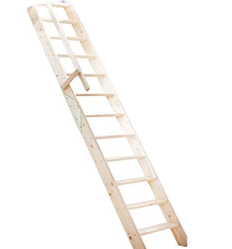 Intercon® Osaka Raumspartreppe bis 286 cm Geschosshöhe, Holztreppe Fichte