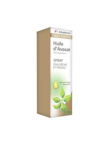 Arkopharma Aromathérapie Complexe Huile Végétale d'Avocat Spray Boîte de 30 ml