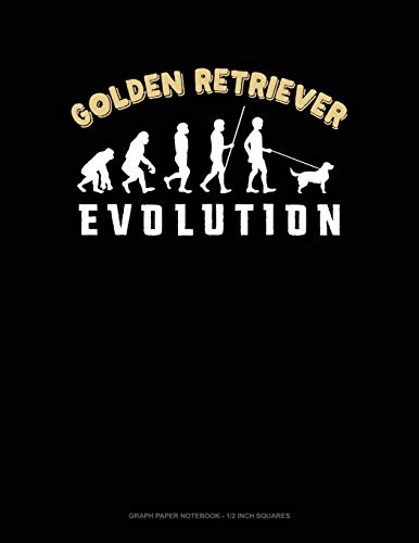 Golden Retriever Evolution: Graph Paper Notebook - for sale  Delivered anywhere in UK