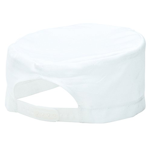 PORS899WHR - Chefs Skull Cap White - R - One Size EU / UK (White Skull Cap)