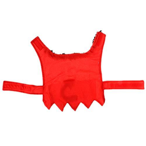 KESOTO Halloween Teufel Umhang mit Schwanz für Katze und Hund - (Katze Schwanz Halloween)
