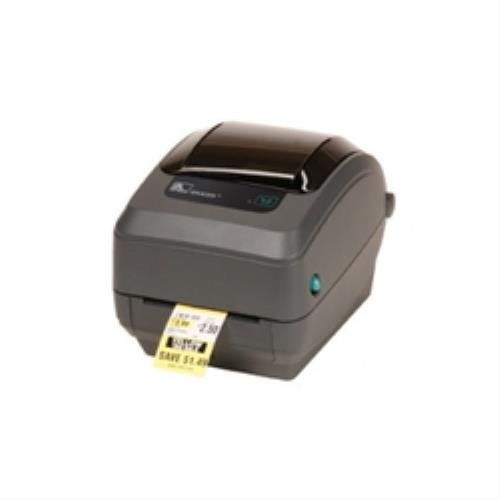 Zebra GK420T Etiketten-Drucker Thermotransfer 203 x 203 dpi Etikettenbreite (max.): 110 mm USB, RS-232