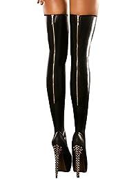 Jupe effet mouillé deniers bas (stockings) taille s/m l/xL gogo bas
