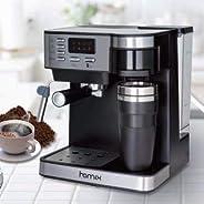 ماكينة تحضير القهوة والاسبريسو بالتقطير