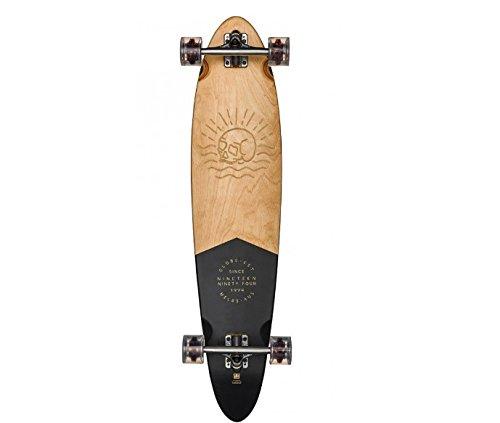 Globe Pinner Classic Skateboard, Black/Mahogany, 40