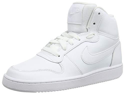 Nike Damen Ebernon Mid Sneakers, Weiß White 001, 40 EU Mid Sneaker