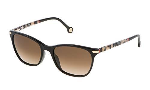 Carolina Herrera Damen SHE652V540700 Sonnenbrille, Schwarz (Negro), 54