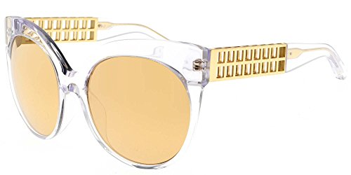 Linda Farrow Sonnenbrillen 388 CLEAR YELLOW GOLD CLEAR YELLOW GOLD/GOLD MIRROR Damenbrillen