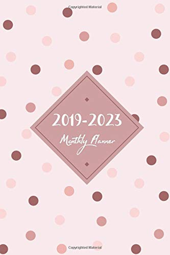 2019-2023 Monthly Planner: Monthly Schedule Organizer, Agenda Planner For The Next Five Years, Appointment Notebook, Monthly Planner, Action Day, Passion Goal Setting (2019-2023 Planner) por Nathalie Adam
